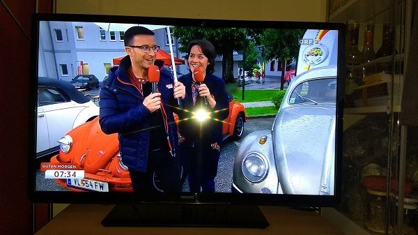 """ORF  Sendung """" Guten Morgen Österreich aus Treffen"""""""