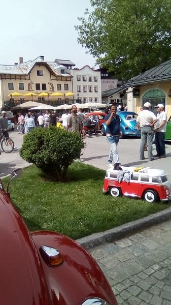 VW Käferweihe in St. Johann i. Tirol